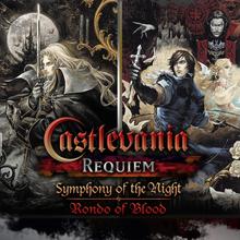 Box art for the game Castlevania Requiem