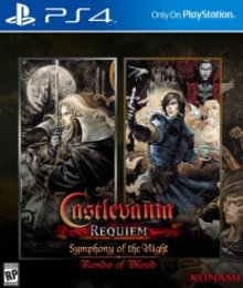 Box art for the game Castlevania Requiem: Symphony of the Night & Rondo of Blood