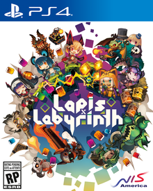 Box art for the game Lapis X Labyrinth