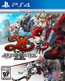 Box art for the game Ys IX: Monstrum Nox
