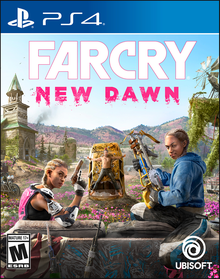 Box art for the game Far Cry New Dawn