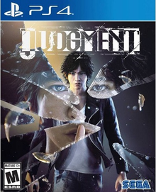 Box art for the game Judgment