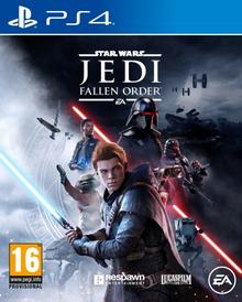 Box art for the game Star Wars Jedi: Fallen Order