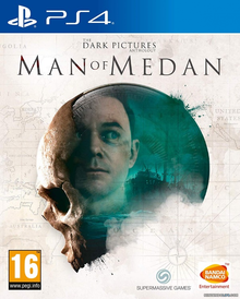 Box art for the game The Dark Pictures: Man of Medan