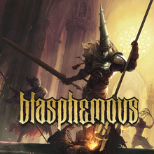 Box art for the game Blasphemous