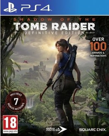 Box art for the game  Shadow of the Tomb Raider: Definitive Edition
