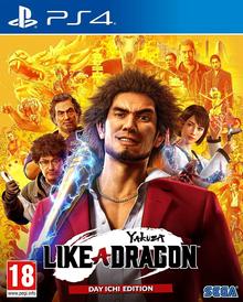 Box art for the game Yakuza 7: Like a Dragon