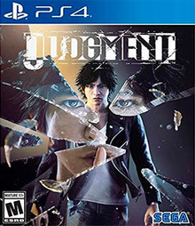 Box art for the game Judgement