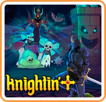 Box art for the game Knightin'+