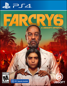 Box art for the game Far Cry 6