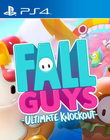Box art for the game Fall Guys: Ultimate Knockout