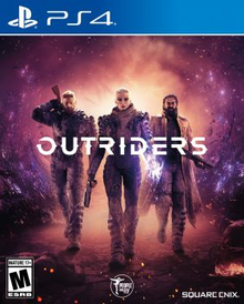 Box art for the game Outriders