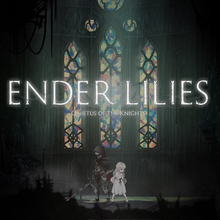 Box art for the game  Ender Lilies: Quietus of the Knights