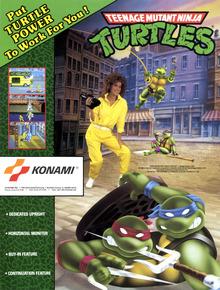 Box art for the game Teenage Mutant Ninja Turtles