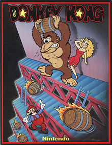 Box art for the game Donkey Kong