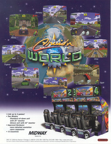 Box art for the game Cruis'n World