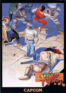 Box art for the game Final Fight