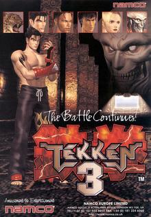 Box art for the game Tekken 3