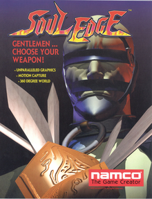 Box art for the game Soul Edge