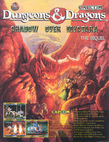 Box art for the game Dungeons & Dragons: Shadow Over Mystara
