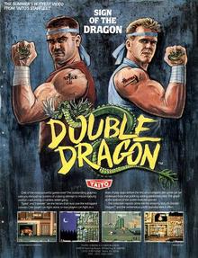 Capa do jogo Double Dragon