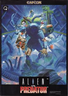 Box art for the game Alien vs. Predator
