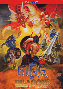 Box art for the game The King of Dragons