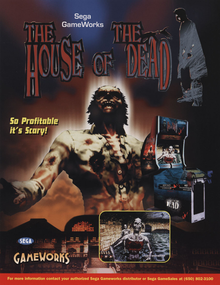 Box art for the game The House of the Dead