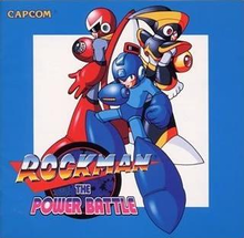 Box art for the game Mega Man: The Power Battle