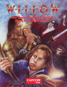 Box art for the game Willow