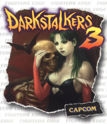 Box art for the game Darkstalkers 3