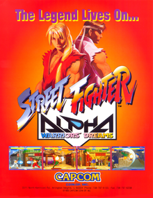 Box art for the game Street Fighter Alpha Warriors' Dreams
