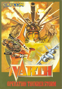 Box art for the game Varth: Operation Thunderstorm