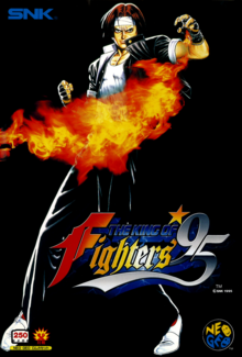 Box art for the game The King of Fighters 95