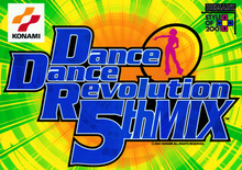Box art for the game Dance Dance Revolution 5th Mix