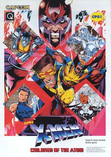 Box art for the game X-Men Children of the Atom