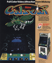 Box art for the game Galaxian