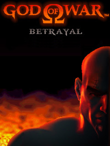 Box art for the game God of War Betrayal