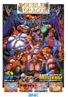 Box art for the game Double Dragon (Neo-Geo)