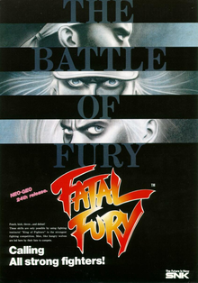 Box art for the game Fatal Fury: King of Fighters