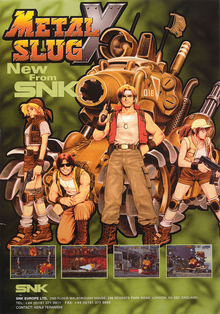 Box art for the game Metal Slug X