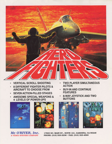 Box art for the game Aero Fighters