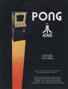 Box art for the game Pong
