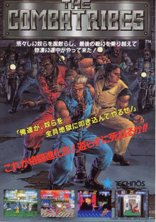 Box art for the game The Combatribes