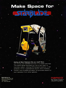 Box art for the game Starblade