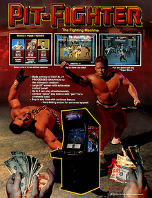 Box art for the game Pit-Fighter