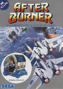 Capa do jogo After Burner