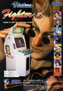 Box art for the game Virtua Fighter 3