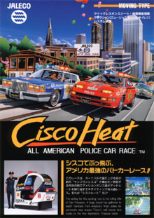 Box art for the game Cisco Heat