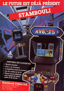 Capa do jogo Xybots